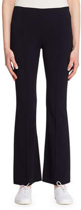 The Row Beca Side-Zip Flared-Leg Pants
