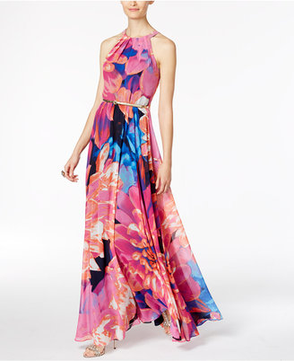 Inc International Concepts Floral-Print Maxi Dress, Created for Macy's $159.50 thestylecure.com