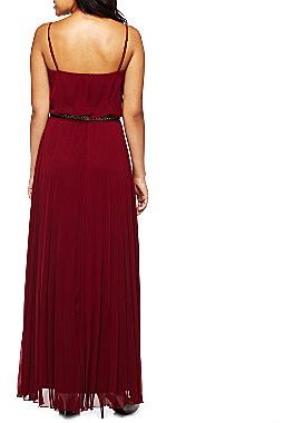 JCPenney Bisou Bisou® Pleated Maxi