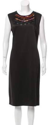 Clements Ribeiro Embellished Shift Dress w/ Tags