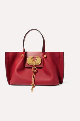 Valentino Garavani Escape Small Textured-leather Tote
