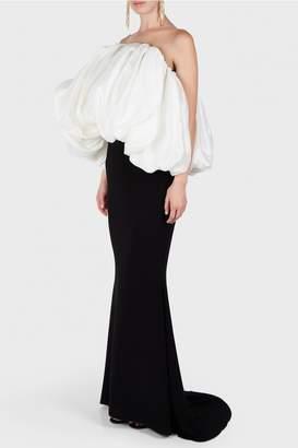 Isabel Sanchis Bonnie Overlay Bustier Dress