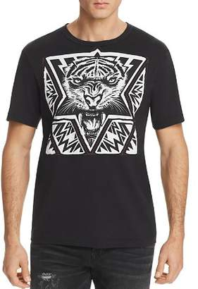 True Religion Laser Cut Tiger Tee