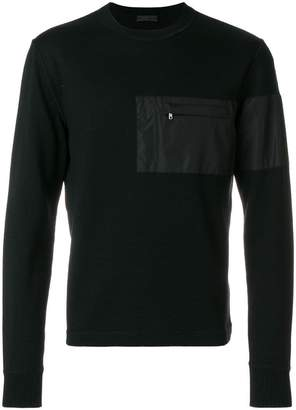 Prada patch pocket sweater