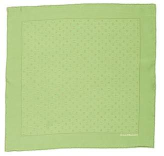 Hermes Chaine d'Ancre Silk Pocket Square