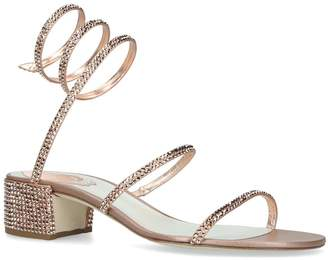 Rene Caovilla Jewel Twirl Sandals 40
