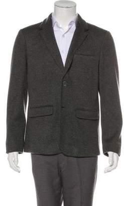 John Varvatos Knit Deconstructed Wool-Blend Sport Coat