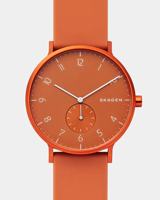Skagen Aaren Kulor Orange 41mm Analogue Watch