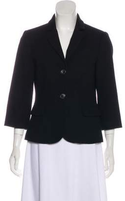 Opening Ceremony Wool Notch-Lapel Blazer