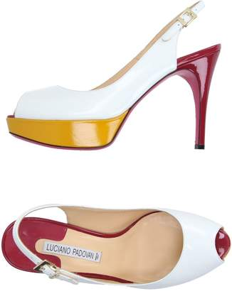 LUCIANO PADOVAN Sandals $292 thestylecure.com