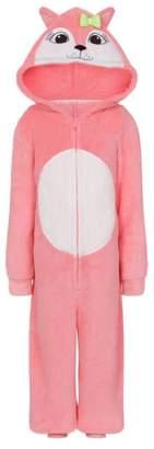Continental Onezie Girls Boys Jumpsuit Fleece All In One Pajama Pyjama