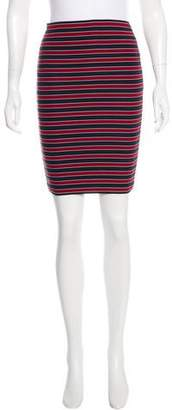 Boy By Band Of Outsiders Striped Knee-Length Skirt
