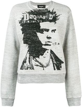 DSQUARED2 printed jumper