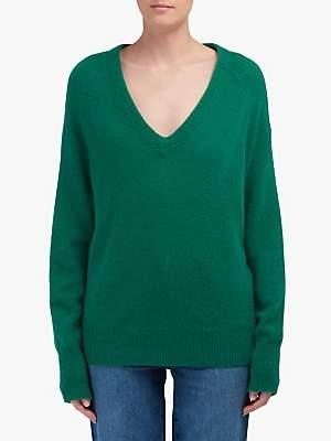 360 Sweater Callie Cashmere Jumper. Emerald