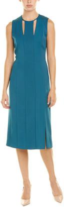 Akris Silk-Blend Sheath Dress