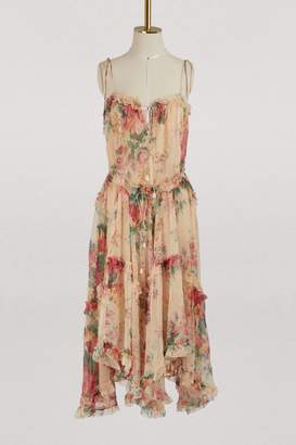 Zimmermann Laelia silk dress