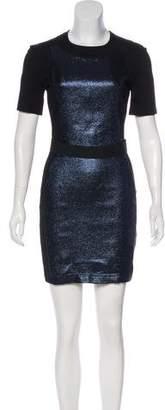 Markus Lupfer Short Sleeve Mini Dress