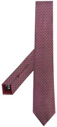 Giorgio Armani logo print tie