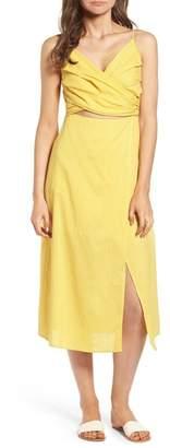 Lush Cutout Midi Dress