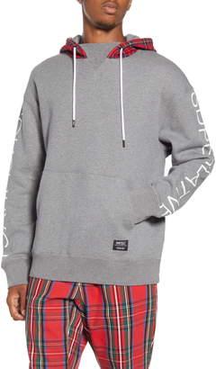 Wesc Murphy Tartan Plaid Hooded Sweatshirt