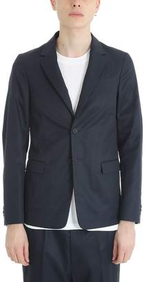 Jil Sander Blue Cotton Blazer
