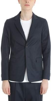 Jil Sander Blue Cotton Blazer