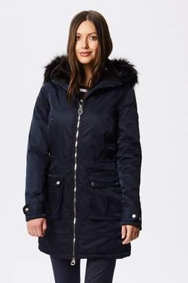 6de52d7de Womens Fur Trim Hooded Waterproof Parka - ShopStyle UK