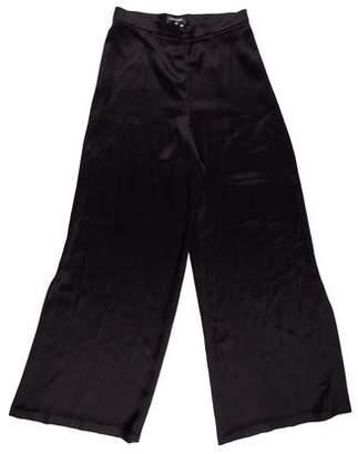 Chanel Silk Wide-Leg Pants