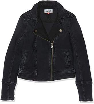 Tommy Hilfiger Men's Girls Denim Biker Jacket Pbbcstr Cape