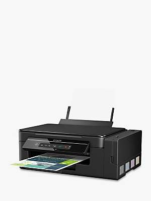 Epson EcoTank ET-2600 Three-In-One Wi-Fi Printer with High Capacity Integrated Ink Tank System & 2 Years Ink Supply Included