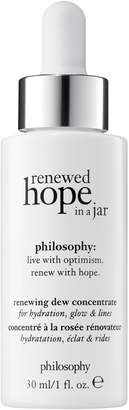 philosophy Renewed Hope In A Jar Renewing Dew Concentrate