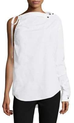 Robert Rodriguez One-Shoulder Tie Top
