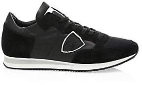 Philippe Model Men's Mesh& Leather Sneakers