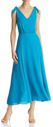 Betsey Johnson Crepe Georgette Midi Dress