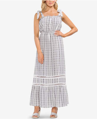 Vince Camuto Cotton Printed Maxi Dress