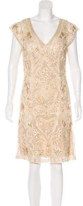 Sue Wong Embellished Cocktail Dress w/ Tags
