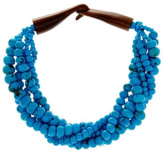 Natasha Accessories Multi-Strand Beaded Necklace $22.97 thestylecure.com