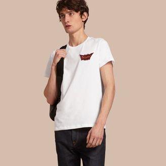 Burberry Passion Motif Cotton T-shirt $195 thestylecure.com