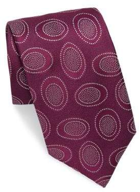 Charvet Silk Bubble Pattern Tie