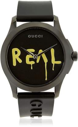 Gucci Ghost Real G-Timeless Rubber Watch