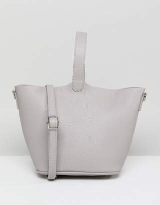 French Connection Structured Bag With Removable Across Body Strap