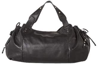 Gerard Darel Le 24 GD Leather Large Shoulder Bag