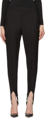 Givenchy Black Wool Stirrup Trousers