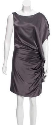 Doo.Ri Ruched Silk Dress