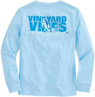 Vineyard Vines Boys Long-Sleeve Ski Knockout Pocket T-Shirt