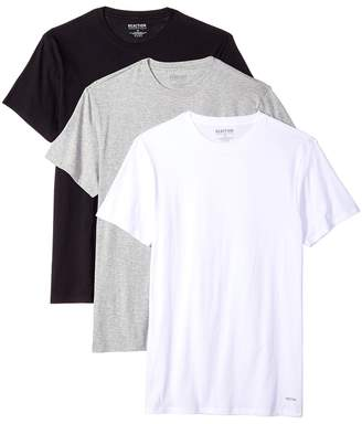Kenneth Cole Reaction 3-Pack Classic Fit Crew Neck Tee Men's T Shirt