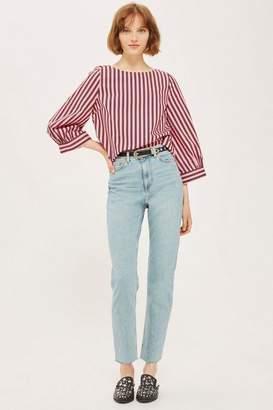 Topshop Vintage Bleach Straight Jeans