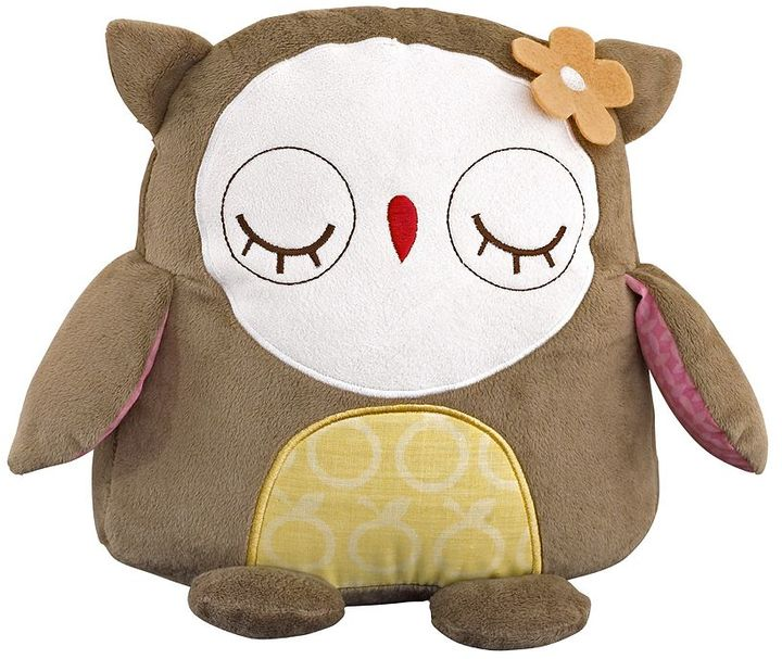 The Woods Cocalo baby in plush owl