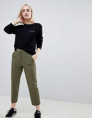 Asos Design Ankle Grazer Cigarette Trousers
