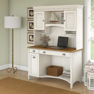 Co Darby Home Carroll Computer Desk with Hutch